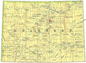 colorado on world map see map of colorodo