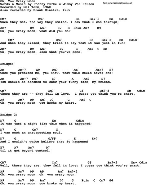 Crazy For You Guitar Chords