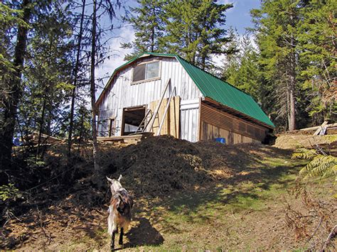 building an inexpensive barn the prepared page