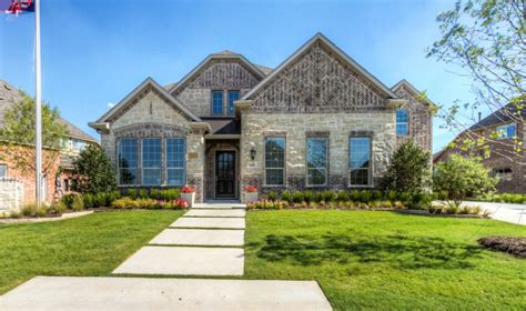 home builders at mustang lakes in celina tx