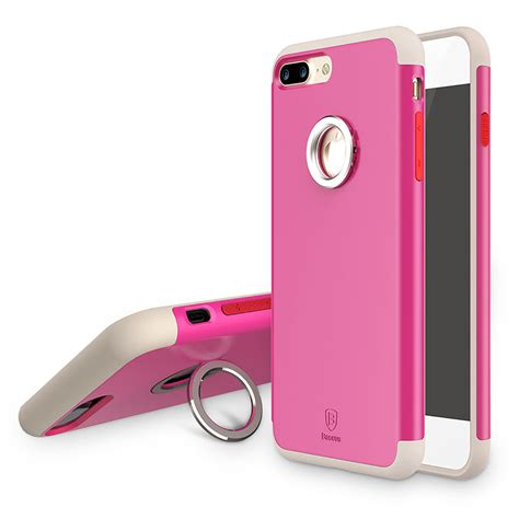 I Ring Stand Iphone 7 Plus for iphone 7 7 plus baseus tpu bumper pc magnetic ring