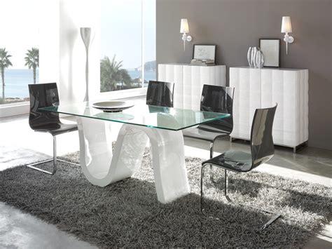 mesas de comedor de cristal de diseno decoracion interiores mesas de comedor cristal