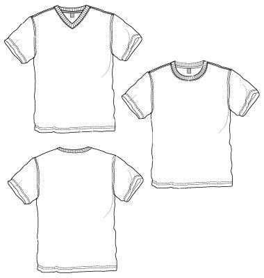 19 Women Basic Shirt Vector Template Images Women S T Shirts Templates Free Downloads T Shirt V Neck T Shirt Design Template