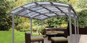 Free Car Canopy by Freestanding Canopies Curved Roof Canopies Crescent