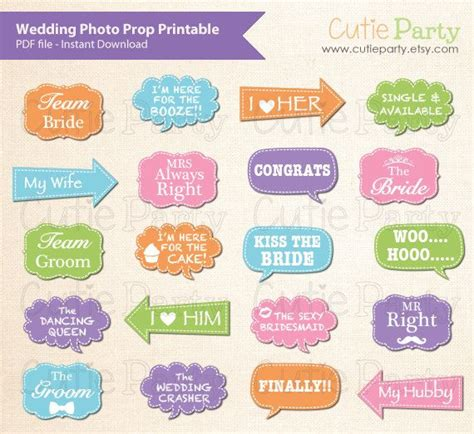printable photo booth props speech bubbles pdf 52 best images about printable photo props on pinterest