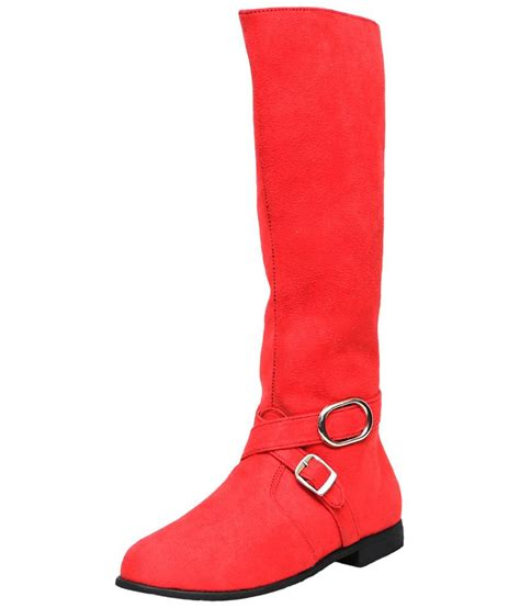 c comfort c comfort pink knee high boots for women price in india