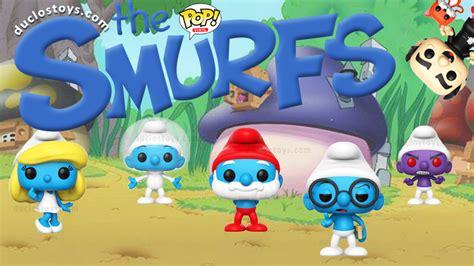 Funko Pop Original The Smurfs Astro Smurf duclos toys figures collectibles toys