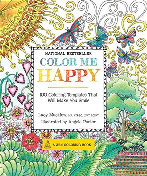 angela porter s doodleworlds books color me happy and color me calm by lacy mucklow and