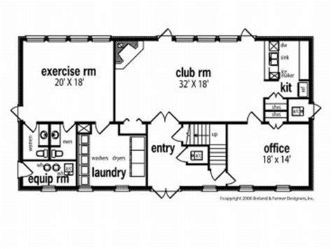 Housing Blueprints Floor Plans commercial building plan clubhouse plan with apartment