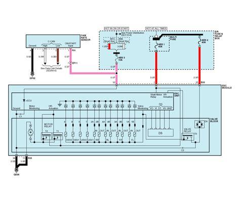 service manual electronic stability control 2009 kia kia forte circuit diagram esc 4 esc electronic stability control system brake system