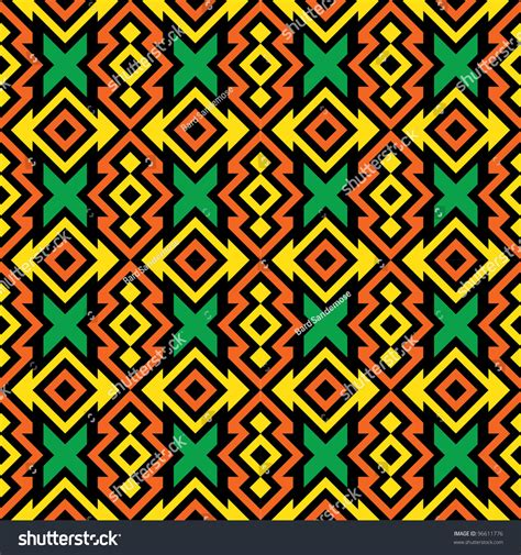 africa vector traditional background pattern seamless african pattern stock vector 96611776 shutterstock