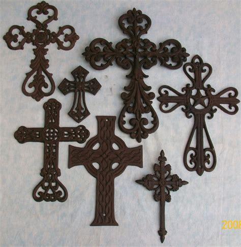 decorative crosses home decor 7 pc decorative wall crosses rustic western shabby decor