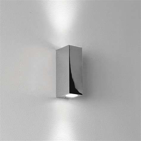 beleuchtung hauswand bloc 0829 led wall light ip44 chrome