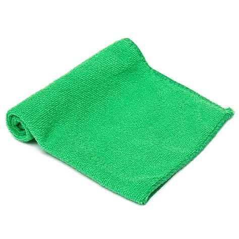 10x green microfiber cleaning auto car detailing soft