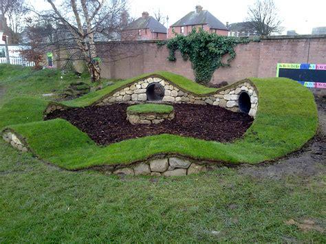 dog play area backyard showcase stone inspired