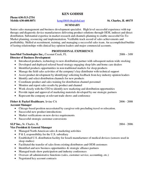 resume sles for it company sle resume entry level pharmaceutical sales sle