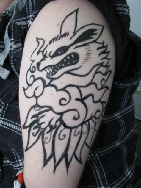 kurama tattoo kurama www pixshark images galleries with a