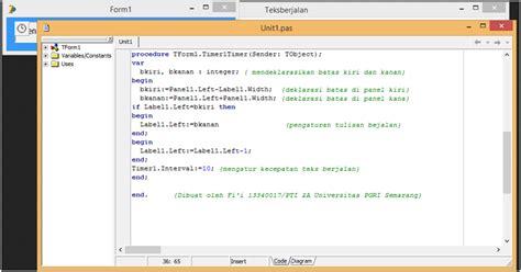 membuat teks prosedur yang singkat cara singkat membuat teks berjalan running text di
