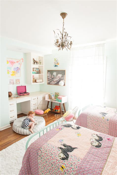 lilac mint big girls room honest to nod shared room inspiration with the land of nod lay baby
