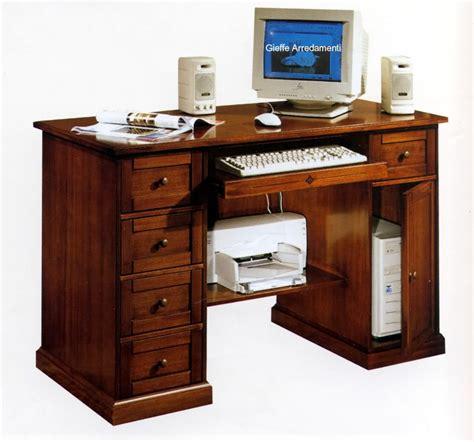 ebay scrivanie scrivania scrittoio porta pc in pioppo finitura