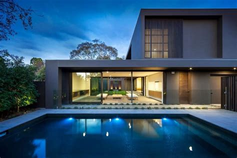 amazing modern homes house colors amazing modern facade in brown