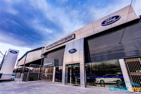 New, Upgraded Ford Showroom Centre Opens In Batu Pahat