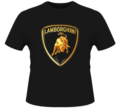 Automobili Lamborghini Clothing by Lamborghini Car Logo T Shirt Ebay