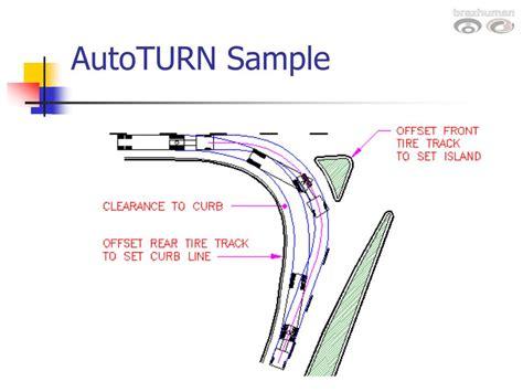 Ppt Design Vehicles And Turning Radii Powerpoint Presentation Id 259312 Aashto Turning Templates