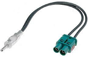baab dual fakra  din antenna adapter  select euro