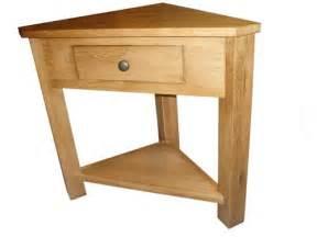 Oak Corner Console Table Ebay