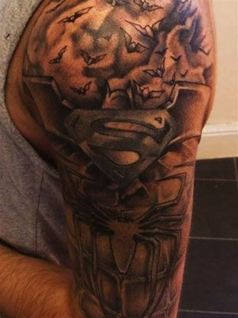 superman tattoos for men 35 inspirational superman tattoos nenuno creative