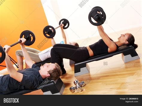 imagenes personas fitness people group doing fitness exercise image photo bigstock