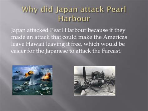 ppt world war 2 attack in pear harbour powerpoint