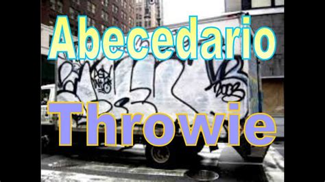 como hacer graffitis faciles  rapido abecedario throwie