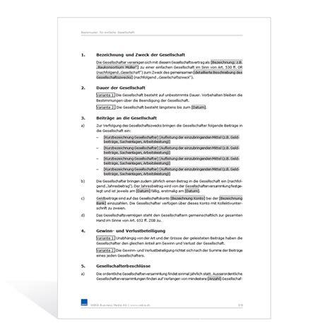 Muster Treuhandvertrag Schweiz muster auftrag basismuster muster dienstleistungsvertrag schweiz 28 images family muster