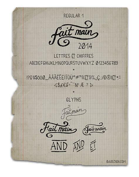 Handmade Fonts Free - 50 new amazing free fonts for creative designers june 2014