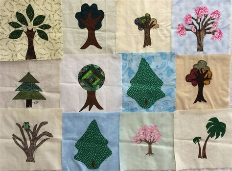 Quilt Tree Classes by Quilting Class Tree Setting Lyn Brown
