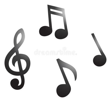 clipart note musicali note musicali illustrazione vettoriale illustrazione di
