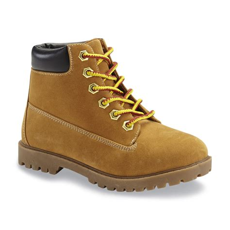 toddler work boots route 66 toddler boy s abbe wheat work boot shoes baby