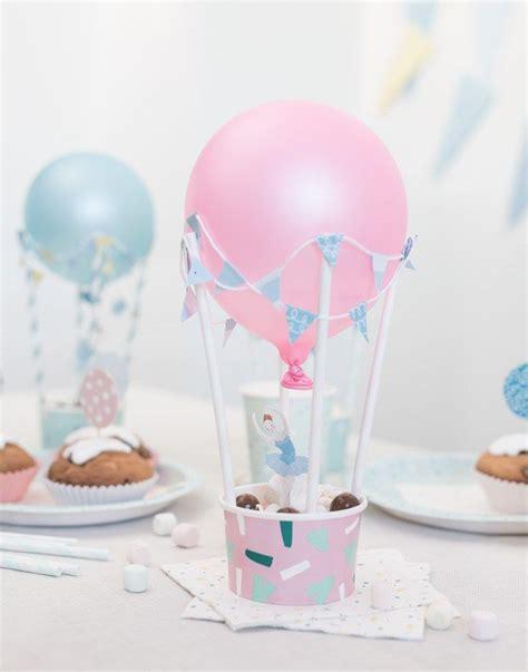 Basteln Mit Pappbechern 3958 by Diy Hei 223 Luftballons Als Tischdekoration Diy