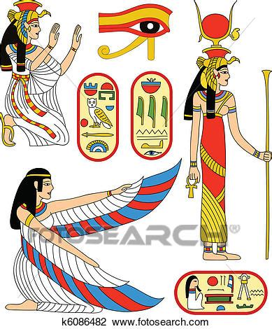 isis egyptian goddess clip art clipart of egyptian goddess isis k6086482 search clip
