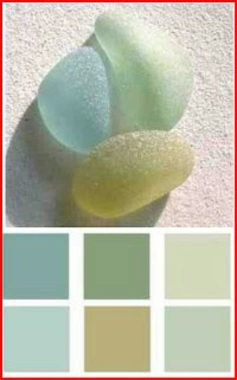 sea glass colors color