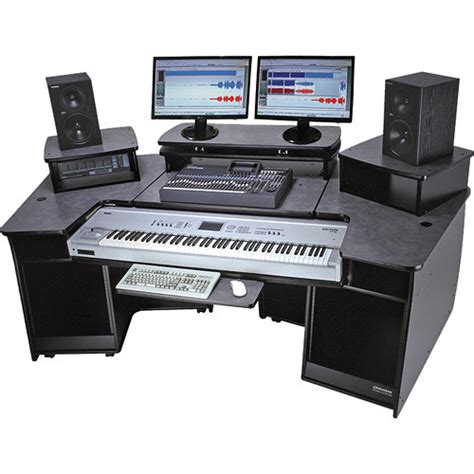 Omnirax F2 Keyboard Composing Mixing Workstation F2 B B H Omnirax 24 Studio Desk