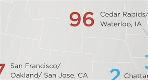 these are america s most least bible minded cities list of the most and least bible minded cities in america