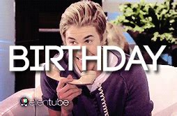 happy birthday justin bieber free download justin bieber gif find share on giphy