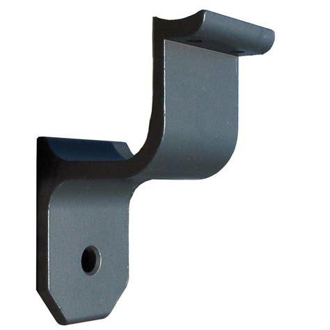 banister wall brackets ez handrail 1 9 in aluminum round ada handrail bronze