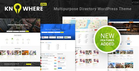 themeforest classified theme knowhere pro v1 3 5 multipurpose classified directory
