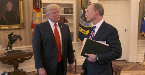trump oval office pictures president trump talks quot bigness quot of the presidency cbs news