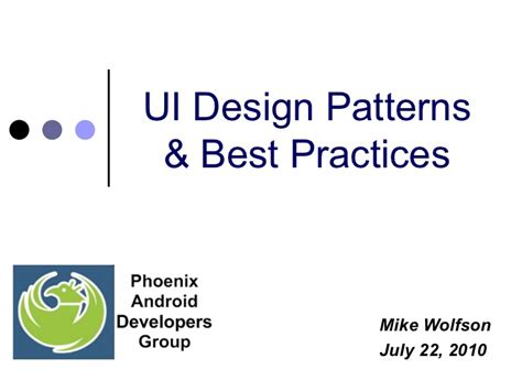android layout design best practices android ui design patterns best practices