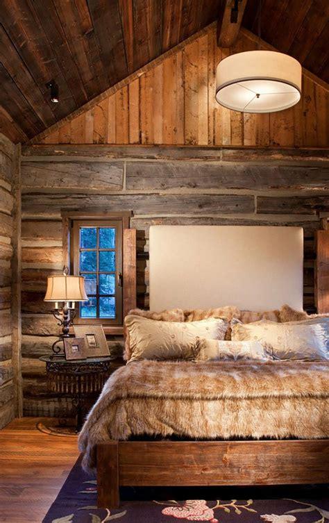 Chambre En Bois Rustique by L Esprit Montagne Refl 233 T 233 Dans Une Chambre Rustique
